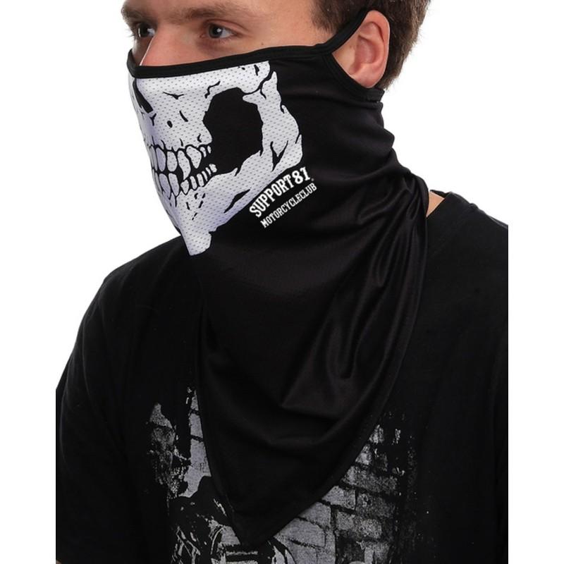 Hells Angels Support81 long Face Mask biker Scull