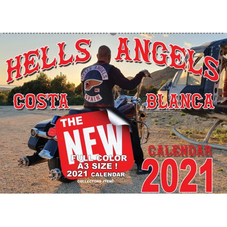Hells Angels Support 81 Calendario Limited Edition 2020 Big Red Machine