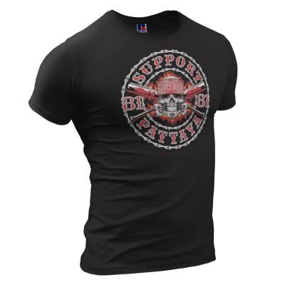 Hells Angels Pattaya Thailand support81 T-Shirt skull