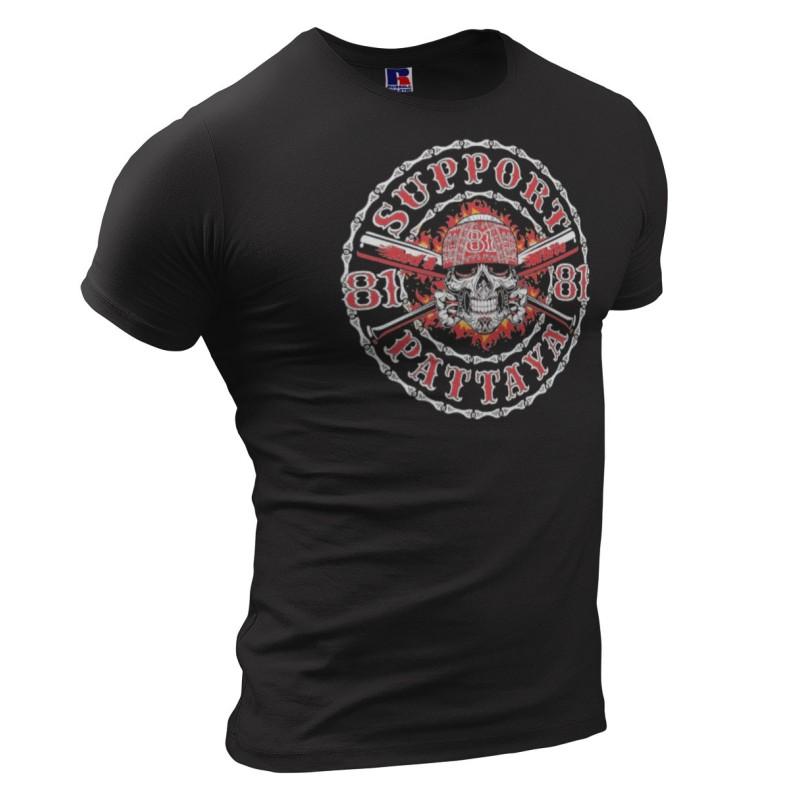 Hells Angels Chiang Mai Thailand T-Shirt V-Twin