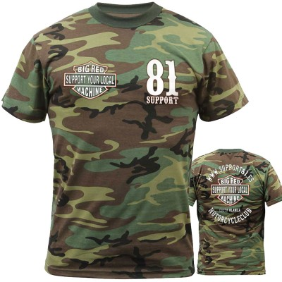 Hells Angels Support81 Camouflage T-Shirt