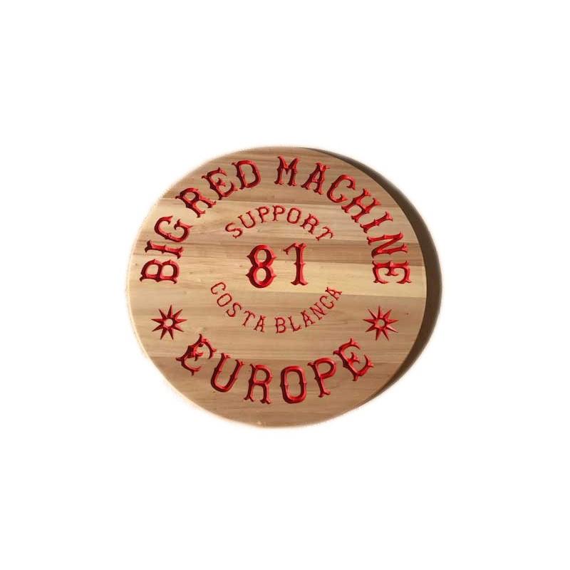 Hells Angels Holzschilder gefräst Support 81 Costa Blanca Europe