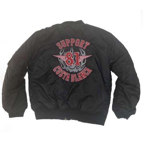 Hells Angels Support81 MA-1 Bomber Jacket