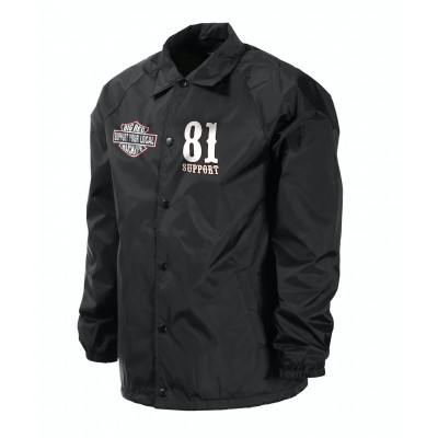Hells Angels World Support81 giacca a vento Big Red Machine