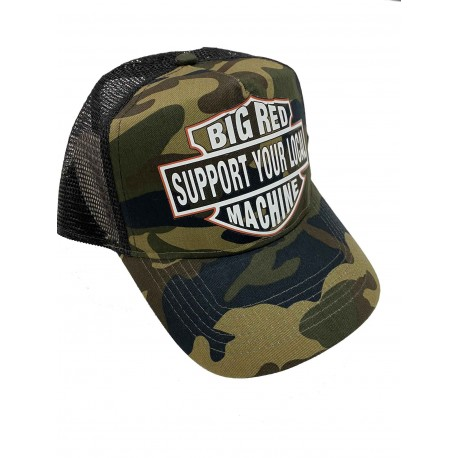 Hells Angels Support81 baseball cap CB BRM Camo mesh Retro Style