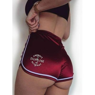 Hells Angels Women's Shortie Hot Pants Support81 World