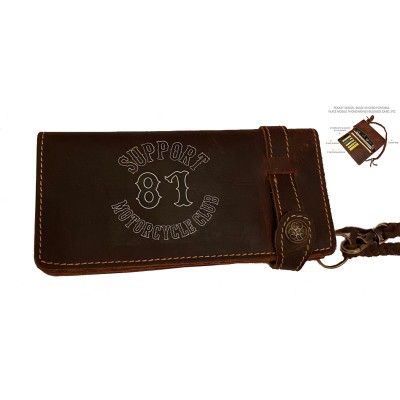 Hells Angels Support81 Wallet 18cm leather