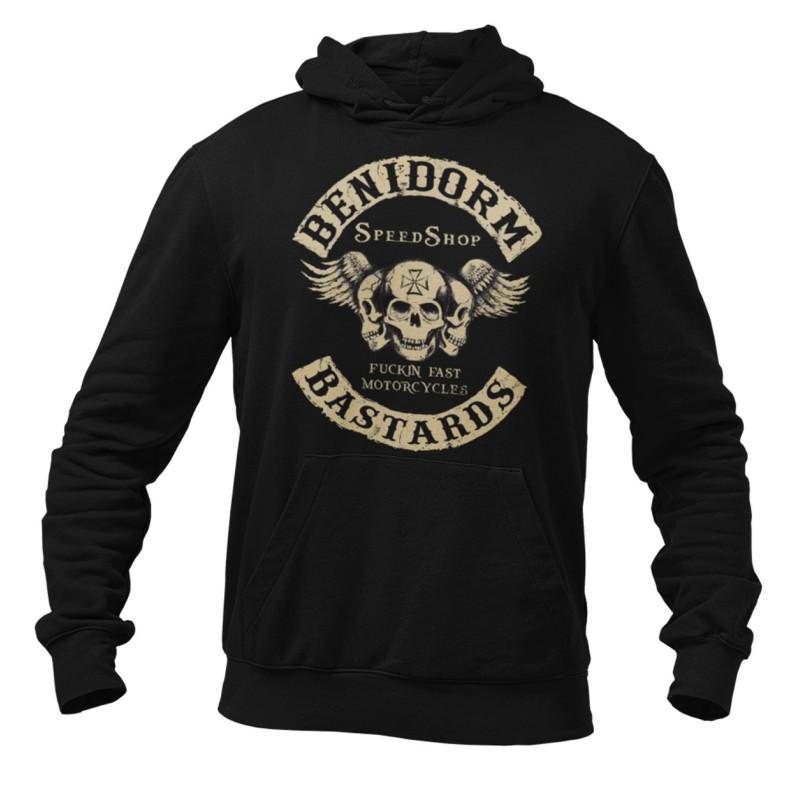 Hells Angels Support81 hoodie Benidorm Bastards Black