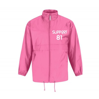 Ladies Support81 World Rain Jacket Windbreaker