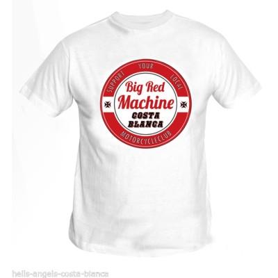 Hells Angels Circle star Blanco T-Shirt Support81