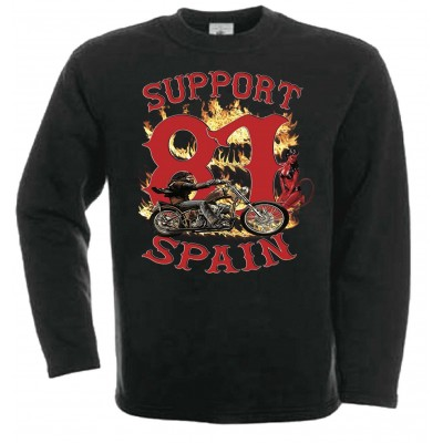 Hells Angels Support81 Davidmann sweatshirt black
