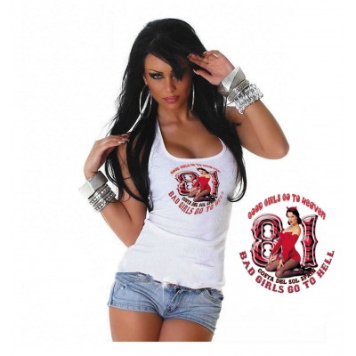 Hells Angels Support81 Costa Del Sol Good Girls ladies singlet