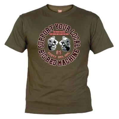 Guns Vert-kaki T-Shirt Support81 Costa del Sol