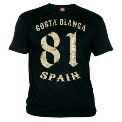 81 Vintage Support T-Shirt Noir