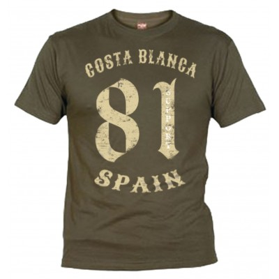 81 Vintage Support Camiseta Negra