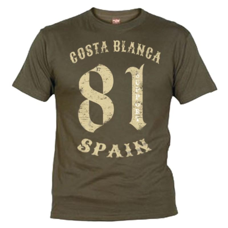 81 Vintage Support Black T-Shirt