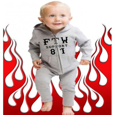 Baby Bodysuit Support 81 Costa Blanca Hells Angels FTW