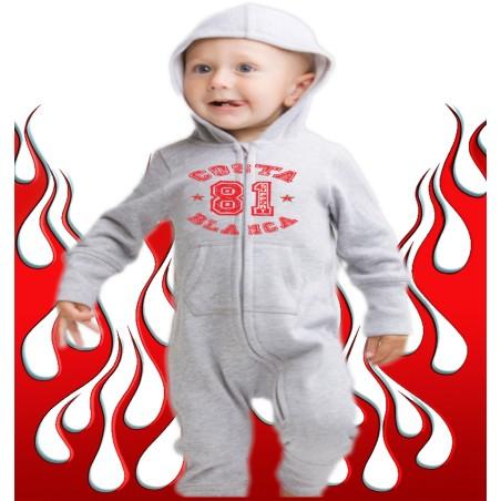 Baby Bodysuit Support 81 Costa Blanca Hells Angels College