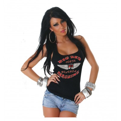 Hells Angels Wings Support 81 Ladies Tanktop / Singlet
