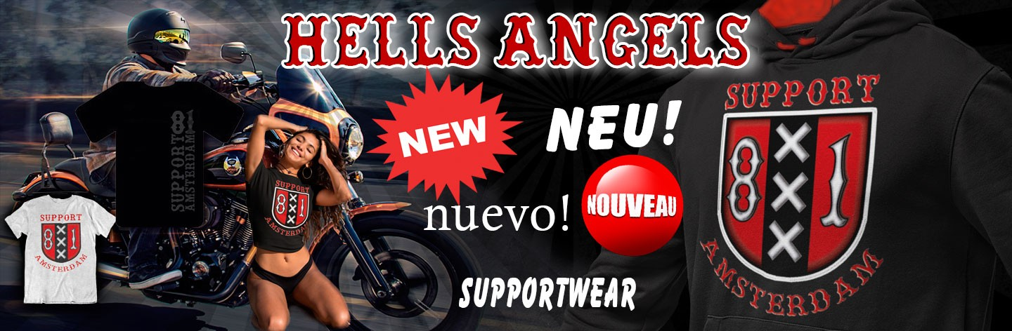 Hells Angels World Support81 Online Store - T-Shirts, Big Red